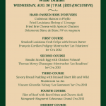 Galatoire's Vins de Bourgogne Wine Dinner